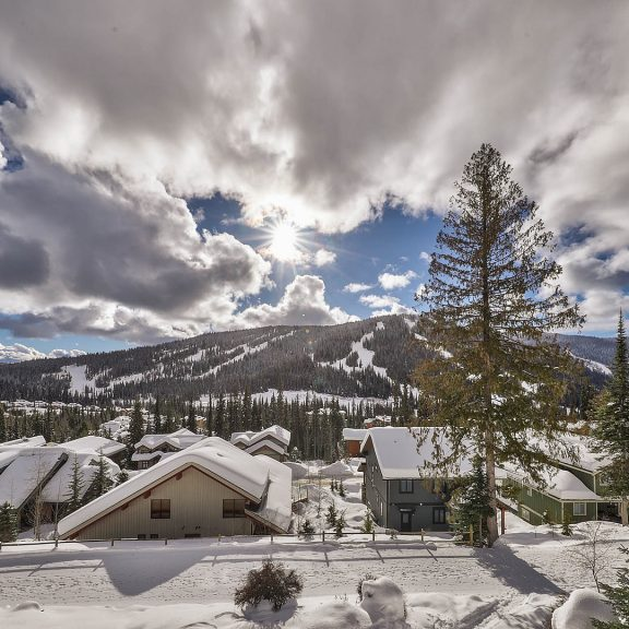 Sun Peaks Vacation Rental Property View
